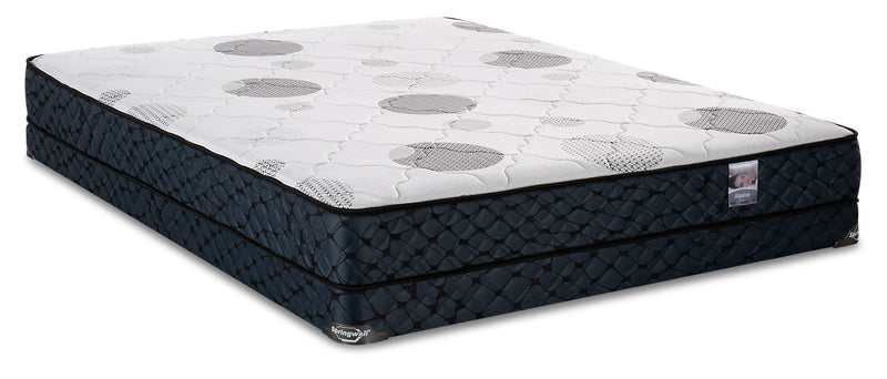 Springwall Alpine Low-Profile Queen Mattress Set|Ensemble matelas à profil bas Alpine de Springwall pour grand lit