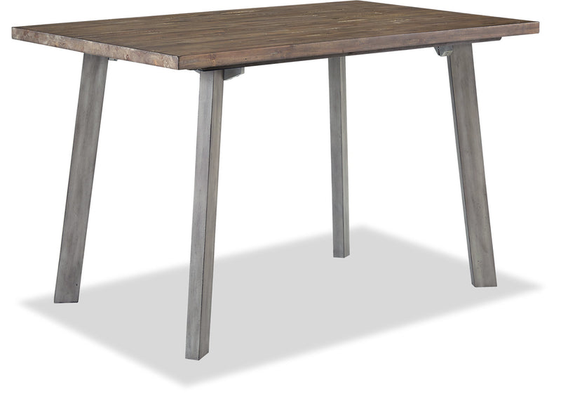 Amelia Counter-Height Dining Table – Grey|Table de salle à manger Amelia de hauteur comptoir – grise|AMELGCTL
