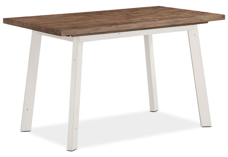 Amelia Counter-Height Dining Table – White|Table de salle à manger Amelia de hauteur comptoir – blanche|AMELWCTL