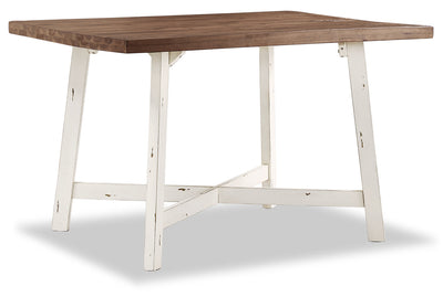 Amelia Dining Table – White|Table de salle à manger Amelia – blanche|AMELWDTL