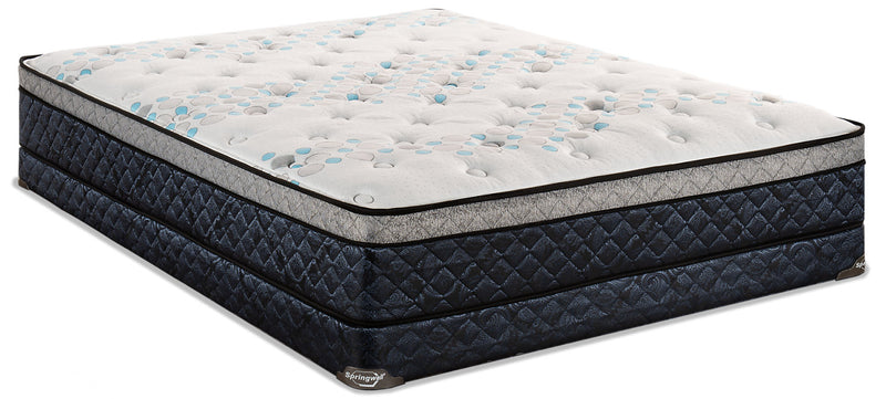 Springwall Amore Eurotop Low-Profile Queen Mattress Set|Ensemble matelas à Euro-plateau à profil bas Amore de Springwall pour grand lit