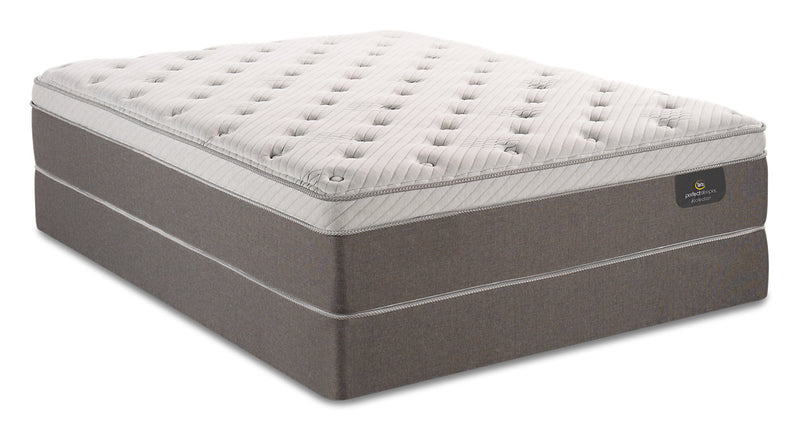 Serta Perfect Sleeper iCollection Ananda Eurotop Twin Mattress Set|Ensemble matelas à Euro-plateau Ananda iCollectionMD Perfect SleeperMD de Serta pour lit simple
