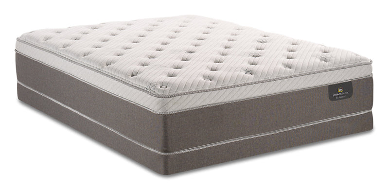 Serta Perfect Sleeper iCollection Ananda Eurotop Low-Profile Queen Mattress Set|Ensemble à Euro-plateau à profil bas Ananda iCollectionMD Perfect SleeperMD Serta pour grand lit