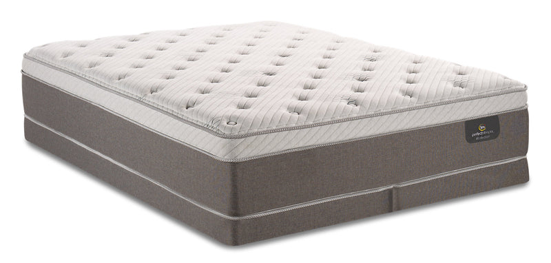 Serta Perfect Sleeper iCollection Ananda Eurotop Low-Profile Split Queen Mattress Set|Ensemble à Euro-plateau divisé profil bas Ananda iCollectionMD Perfect SleeperMD de Serta grand lit