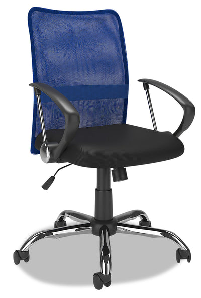 Andre Office Chair - Blue|Chaise de bureau Andre - bleue|ANDNVCHR
