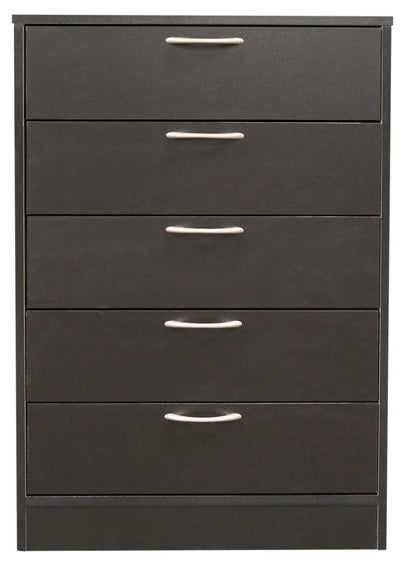 Arlo Chest - Black|Commode verticale Arlo - noire