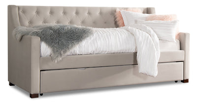 Arya Daybed – Dove Grey - {Contemporary} style Bed in Dove grey {Acacia}, {Plywood}