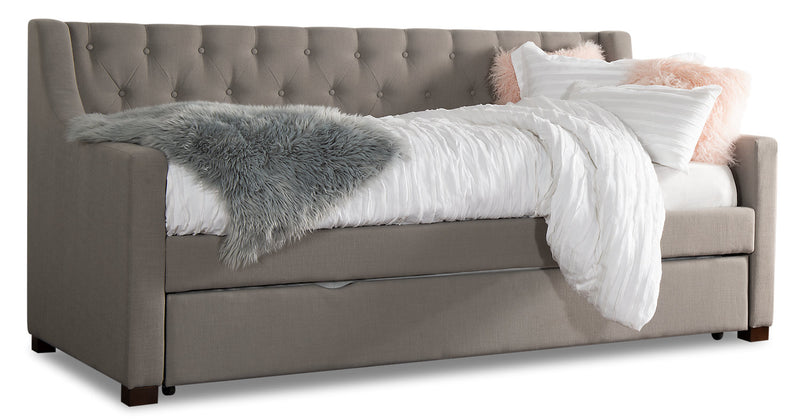Arya Daybed – Slate Grey - {Contemporary} style Bed in Slate grey {Acacia}, {Plywood}