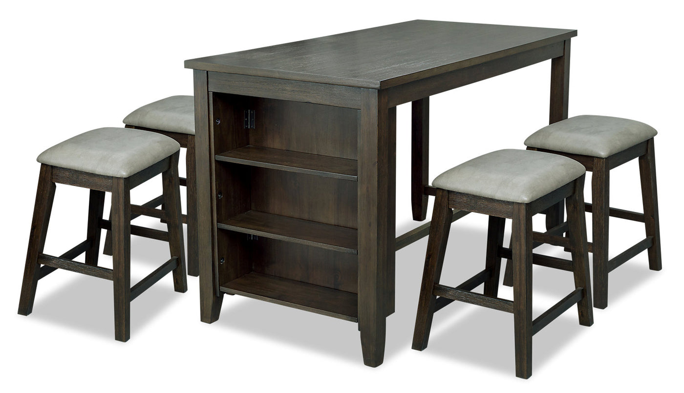 Picture of: Astoria 5 Piece Counter Height Dining Set The Brick