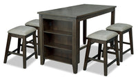 Astoria 5-Piece Counter-Height Dining Set