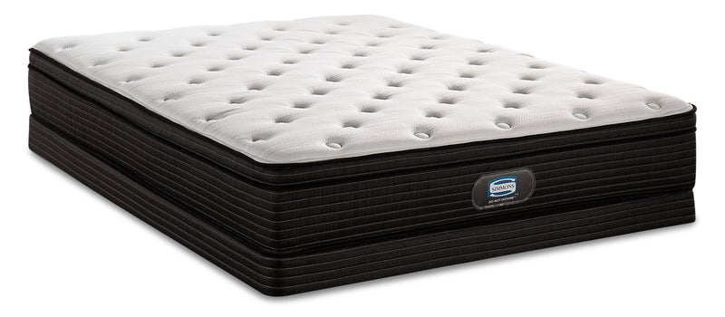 Simmons Do Not Disturb Astoria Eurotop Low-Profile Full Mattress Set|Ensemble matelas à Euro-plateau à profil bas Astoria Do Not DisturbMD de Simmons pour lit double