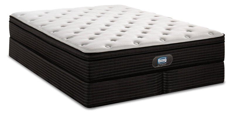 Simmons Do Not Disturb Astoria Eurotop Split Queen Mattress Set|Ensemble matelas à Euro-plateau divisé Astoria Do Not DisturbMD de Simmons pour grand lit