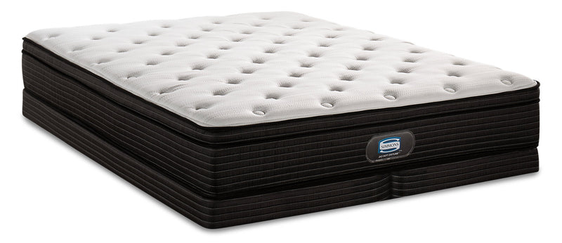 Simmons Do Not Disturb Astoria Eurotop Low-Profile Split Queen Mattress Set|Ensemble matelas à Euro-plateau divisé à profil bas Astoria Do Not DisturbMD Simmons pour grand lit