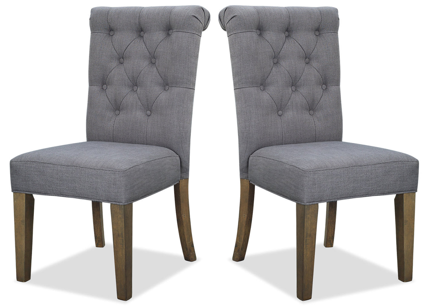 Surprising Ayla Accent Chair Set Of 2 Grey Pdpeps Interior Chair Design Pdpepsorg
