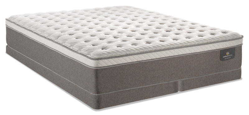 Serta Perfect Sleeper iCollection Bali Eurotop Low-Profile King Mattress Set|Ensemble matelas Euro-plateau profil bas Bali iCollection Perfect Sleeper Serta pour très grand lit