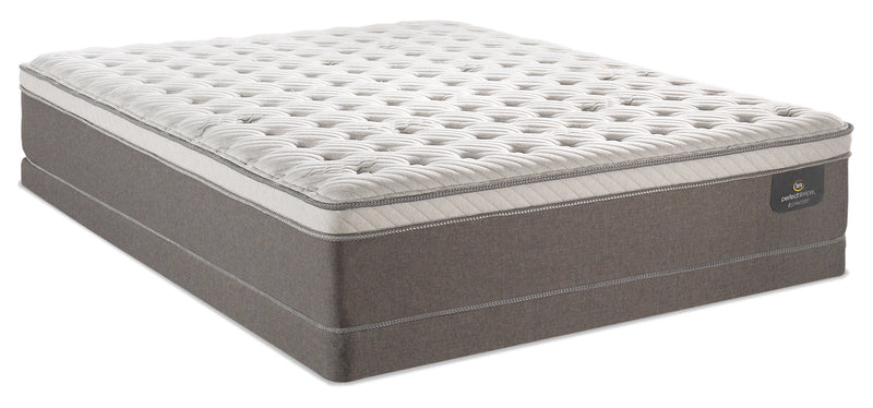 Serta Perfect Sleeper iCollection Bali Eurotop Low-Profile Queen Mattress Set|Ensemble matelas à Euro-plateau à profil bas Bali iCollection Perfect Sleeper Serta pour grand lit