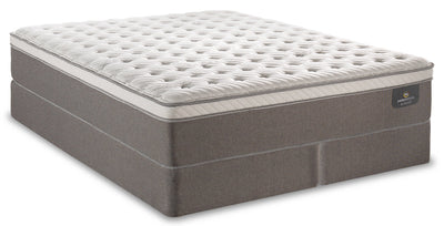 Serta Perfect Sleeper iCollection Bali Eurotop Split Queen Mattress Set|Ensemble matelas à Euro-plateau divisé Bali iCollectionMD Perfect SleeperMD de Serta pour grand lit|BALIESQP