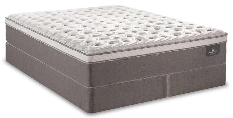 Serta Perfect Sleeper iCollection Bali Eurotop Split Queen Mattress Set|Ensemble matelas à Euro-plateau divisé Bali iCollectionMD Perfect SleeperMD de Serta pour grand lit