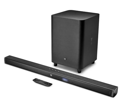 JBL Bar 3.1 Soundbar and Wireless Subwoofer - JBLBAR31BLKAM|Barre de son et caisson d'extrêmes graves  sans fil de JBL - JBLBAR31BLKAM|BAR3SBAR