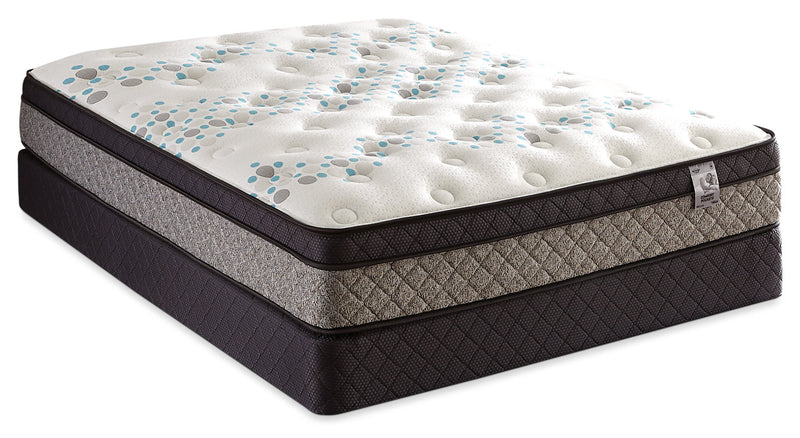 Springwall Bella Euro-Top Low-Profile Split Queen Mattress Set|Ensemble matelas à Euro-plateau divisé à profil bas Bella de Springwall pour grand lit
