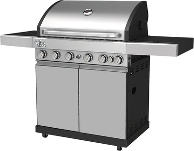 Grill Chef 70,500 BTU Barbecue – BG-6518 - Barbecue in Stainless Steel
