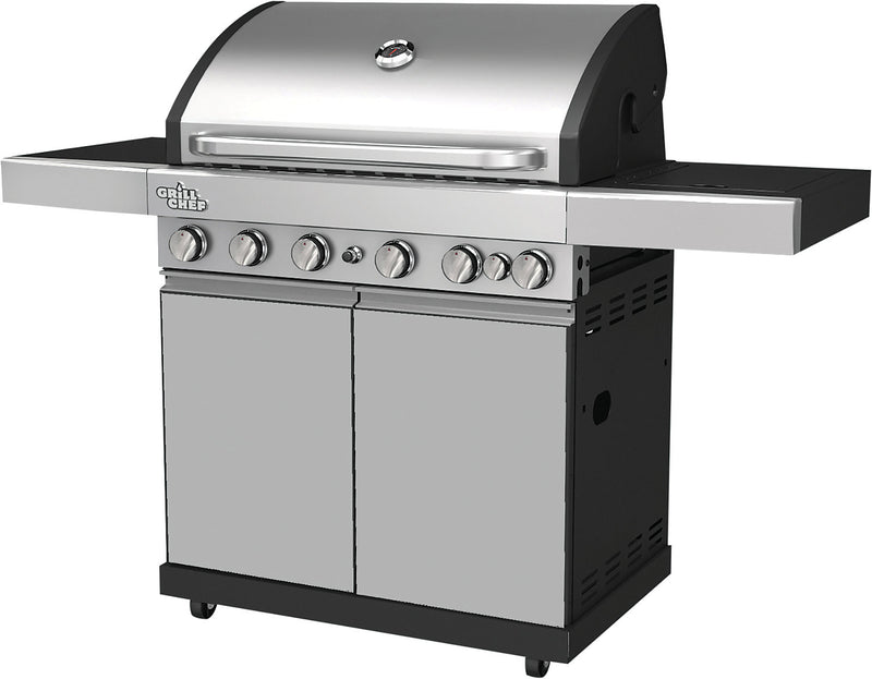 Grill Chef 70,500 BTU Dual-Fuel Barbecue – BG-6518 | Barbecue hybride Grill Chef de 70 500 BTU – BG-6518