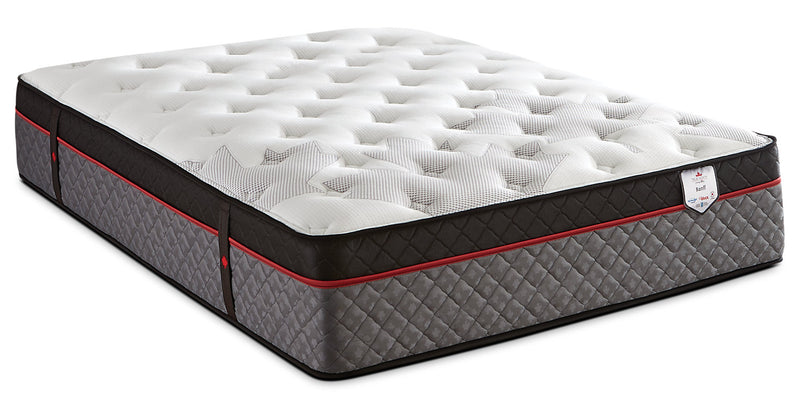 Springwall True North Chiropractic® Banff Euro-Top Twin Mattress|Matelas à Euro-plateau True North Banff Chiropractic de Springwall pour lit simple