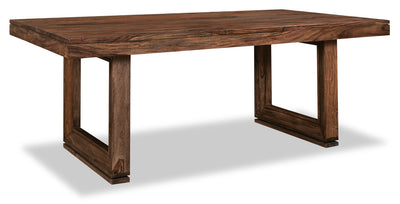 Brownstone Dining Table - Rustic style Dining Table in Brown Sheesham