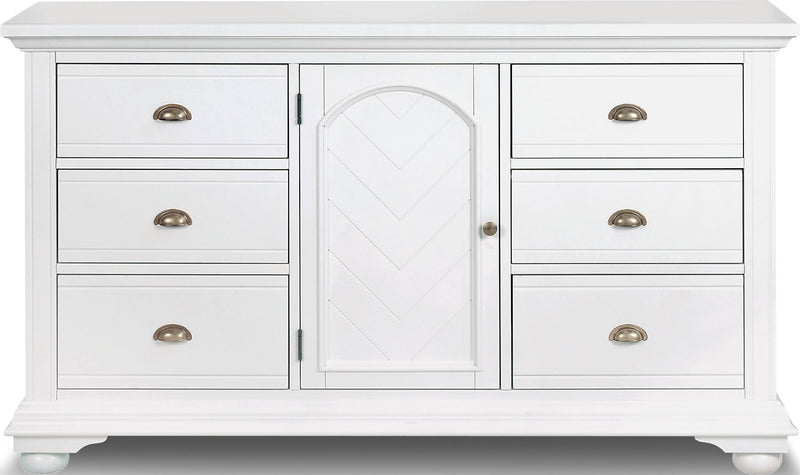 Brooke Dresser – White|Commode Brooke - blanc
