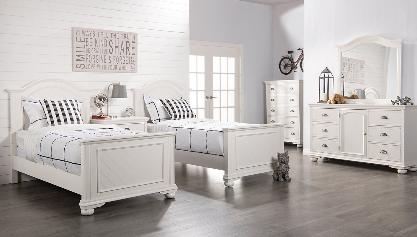 Brooke Twin Bed White The Brick