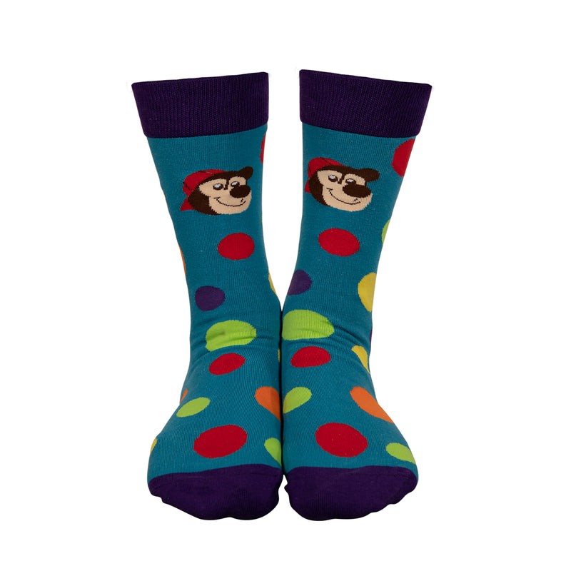 Brickley Bear Adult Socks|Chaussettes ourson Brickley pour adulte