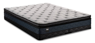 Sealy Brendon Pillowtop Low-Profile King Mattress Set|Ensemble matelas à plateau-coussin à profil bas Brendon de Sealy pour très grand lit|BRNDOLKP