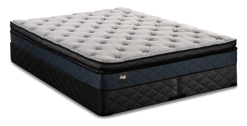 Sealy Brendon Pillowtop Split Queen Mattress Set|Ensemble matelas à plateau-coussin divisé Brendon de Sealy pour grand lit