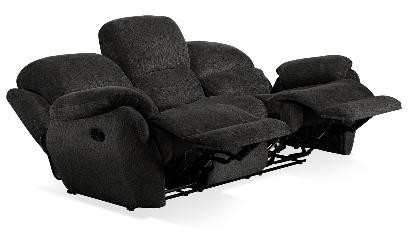 Phenomenal Brody Chenille Reclining Sofa Steel Camellatalisay Diy Chair Ideas Camellatalisaycom