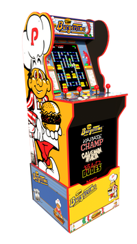 Arcade1Up Burger Time™ Arcade Cabinet with Riser