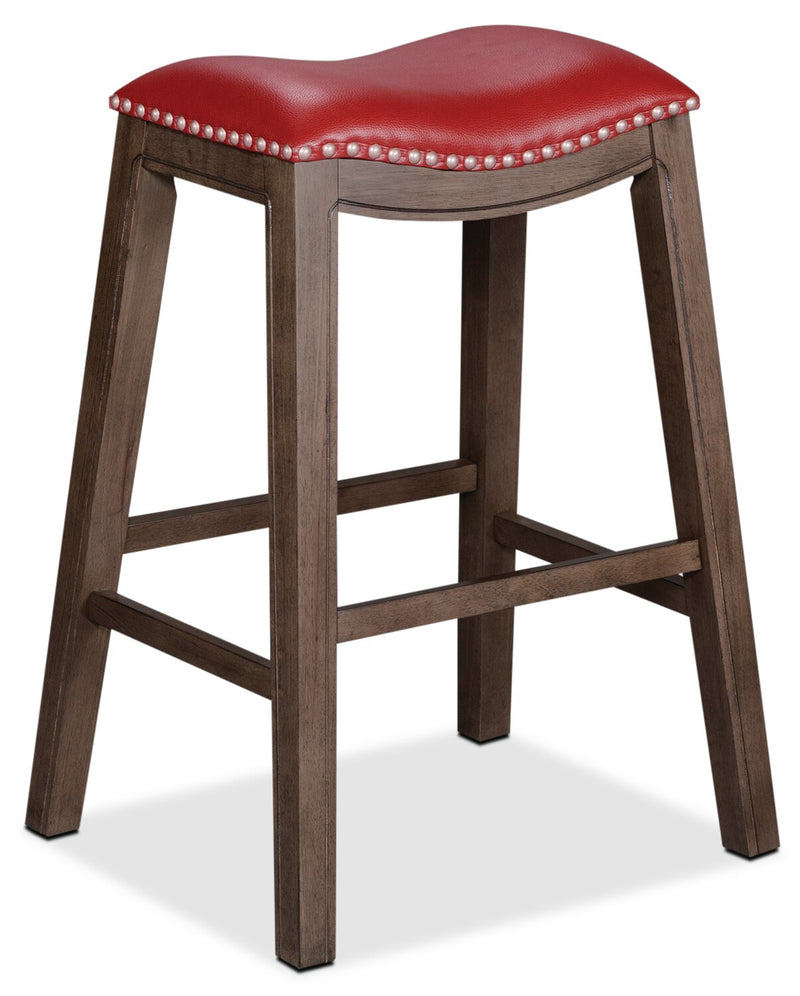 Cale Bar-Height Bar Stool - Red | Tabouret bar Cale - rouge | CALERBST