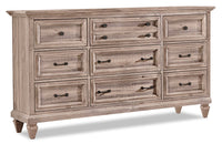 Calistoga Dresser – Dovetail Grey
