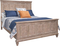 Calistoga Queen Bed – Dovetail Grey
