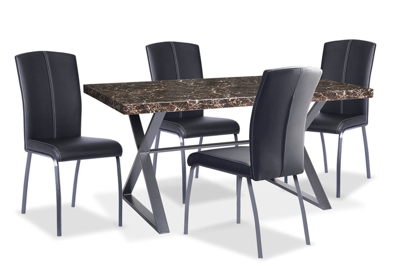 Calla 5 Piece Dining Package