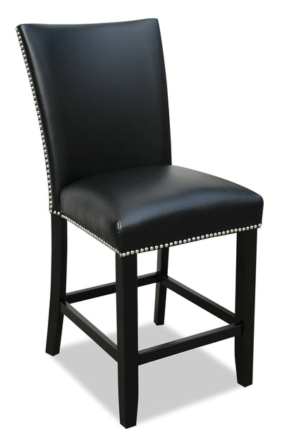 Cami Counter-Height Dining Chair - Black|Chaise de salle à manger Cami de hauteur comptoir - noire|CAMIBCSC