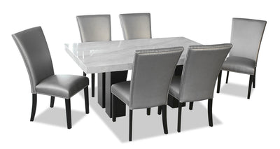 Cami 7-Piece Dining Set - Grey