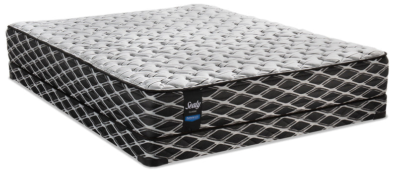 Sealy Posturepedic Camus Low-Profile Queen Mattress Set|Ensemble matelas à profil bas Camus PosturepedicMD de Sealy pour grand lit