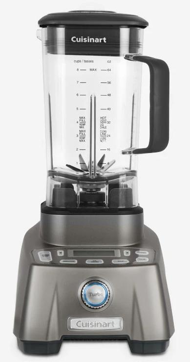 Cuisinart Hurricane Pro 3.5 Peak Horsepower Blender – CBT-2000C - Blender in Stainless Steel