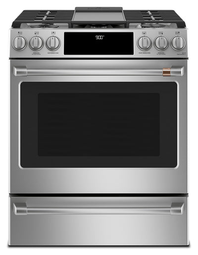 "Café 30"" Slide-In Dual-Fuel Convection Range - CC2S900P2MS1 - Dual Fuel Range in Stainless Steel"