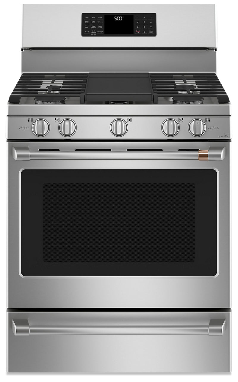 Café Freestanding  Gas Range with Convection - CCGB500P2MS1|Cuisinière à gaz amovible Café à convection - CCGB500P2MS1|CCGB500S