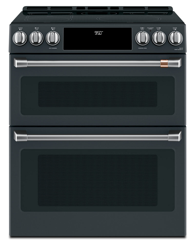 Café Slide-In Double Oven Electric Range with Convection - CCHS950P3MD1