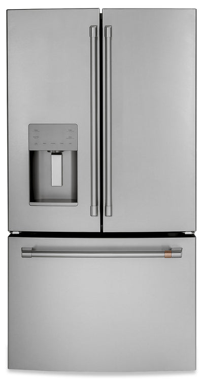 Café 25.6 Cu. Ft. French-Door Refrigerator - CFE26KP2NS1 - Refrigerator in Stainless Steel