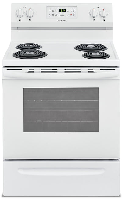 Frigidaire 5.4 Cu. Ft. Electric Range – CFEF3017UW