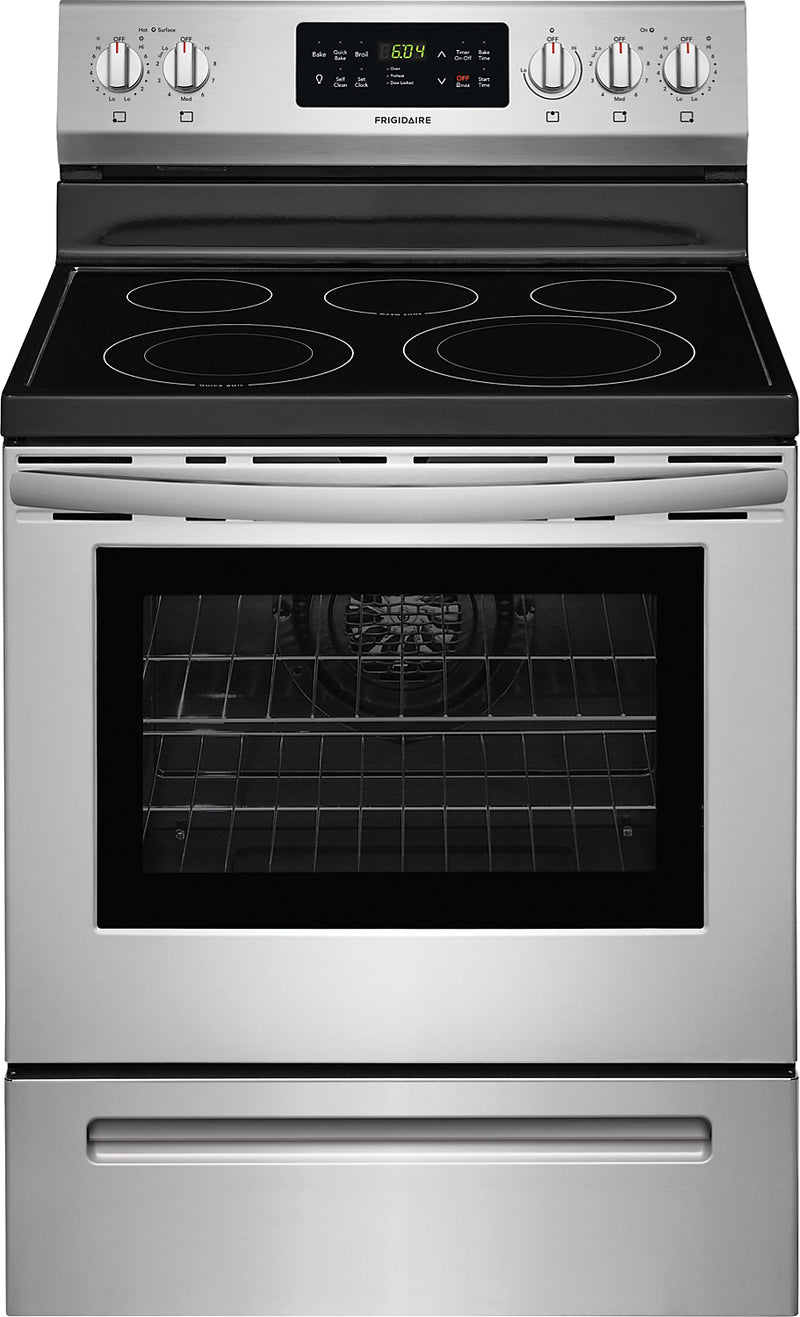 Frigidaire 5.3 Cu. Ft. Electric Range – CFEF3056US - Electric Range in Stainless Steel
