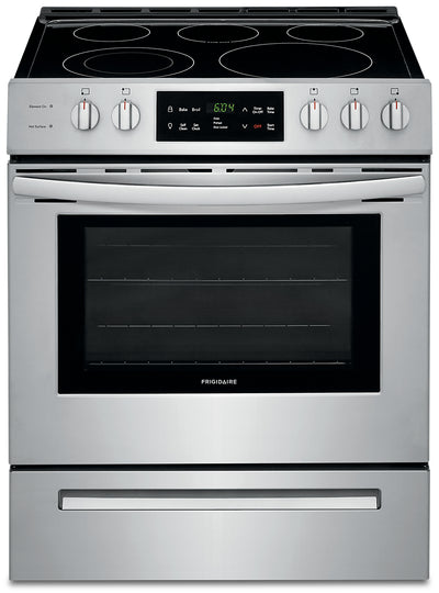 Frigidaire 5.0 Cu. Ft. Front-Control Freestanding Electric Range – CFEH3054US - Electric Range in Stainless Steel